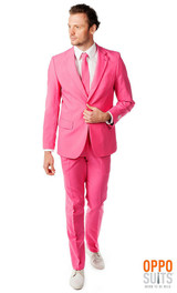 Mens Opposuits Mr. Pink Suit back