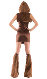 Star Wars Chewbacca Costume back