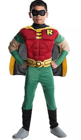 Robin Muscle Deluxe Costume