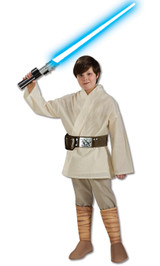 boys luke skywalker jedi costume