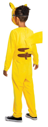 Pokemon Pikachu Jumpsuit Boys Costume