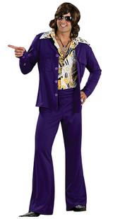 purple leisure suit