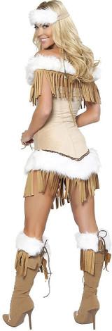 Native American Snow Princess Costume back