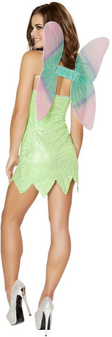 Green Pixie Tinkerbell Costume back
