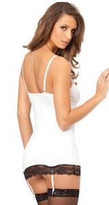 Lace Chemise & G-String White back