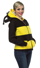 Hoodie Bumble Bee Costume back