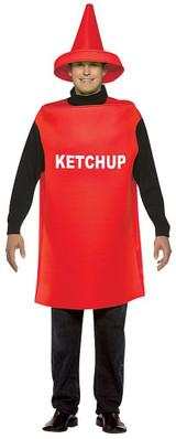 Ketchup Adult costume back