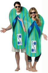 Flip Flop Adult Costume back
