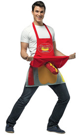 Apron Hot Dog Vendor back