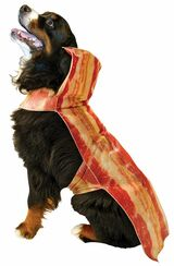 Bacon Dog Costume back