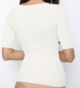 Sassybax Arm Shaper T-Shirt White