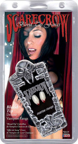 Blood Tip Vampire Fangs back