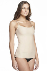 Eva Nylon Tank Nude Side