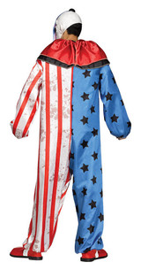 Evil Clown Costume for Adults back