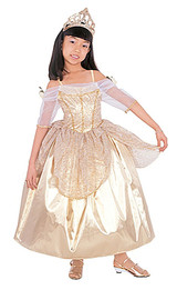 Gold Princess Ball Gown