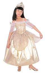 ball gown gold princess