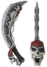 Skeleton Cutlass Pirate Knife