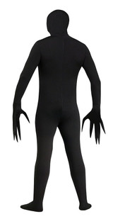 Fade Eye Shadow SkinSuit Adult Costume back
