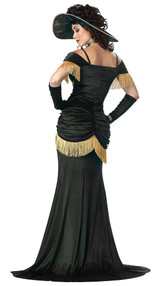 Saloon Madame Costume back