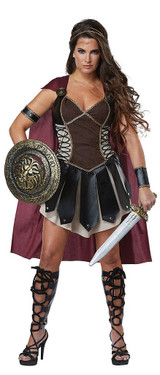 Glorious Gladiator Costume back