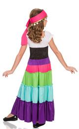 Renaissance Gypsy Girls Costume back