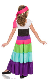 Renaissance Gypsy Girls Costume back