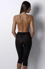 Sheer Solution Capri Pant Liner Black Plus