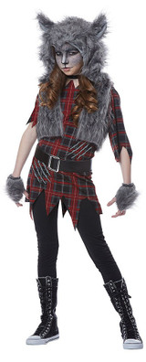 Werewolf Girls Costume back