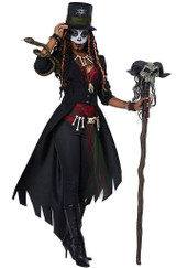 Voodoo Magic Womens Costume back