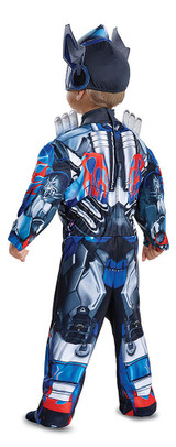Optimus Prime Transformers Toddler back
