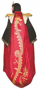 Dragon Emperor Costume back