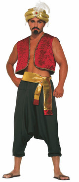 Prince Aladdins Black Pants
