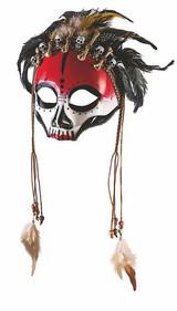 Voodoo Face Mask back