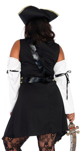 Black Sea Buccaneer Dress back