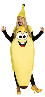 Funny Banana Mens Costume back