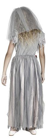 Zombie Bride Girls Costume back
