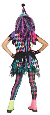 Twisted Circus Girls Costume back