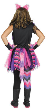 Cheshire Cat Girls Costume back