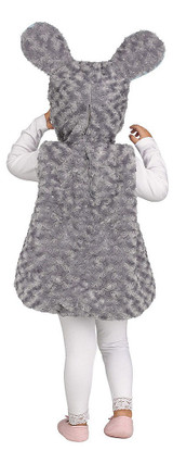 Li'l Grey Mouse Costume back