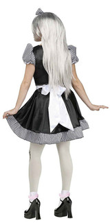 Broken Doll Womens Costume back