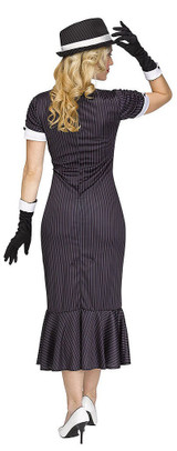 Gangster Gal Womens Costume back