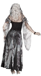 Cemetery Bride Womens Costume back