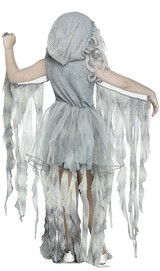 Enchanted Ghost Girls Costume back
