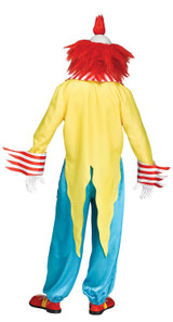 Wicked Clown Master Costume back