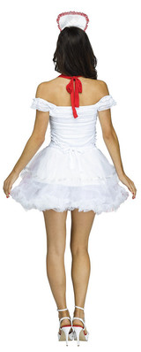 Nurse Apron & Headband back