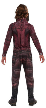 Boys Starlord Costume back