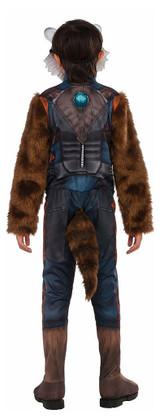 Boys Rocket Raccoon Costume back