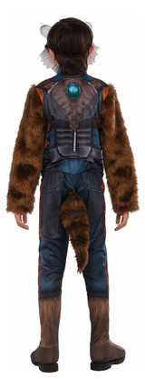 Boys Rocket Raccoon Costume back
