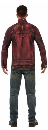 Mens Starlord Costume Top back