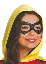 DC Robin Classic Batman & Robin Costume for Girl back